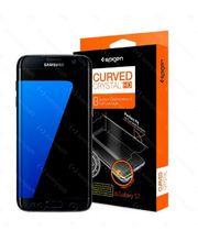 Spigen ochranná fólie Steinheil Curved Crystal Clear pro Galaxy S7