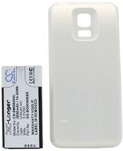 Baterie pro Samsung Galaxy S5 mini rozšířená včetně zadního krytu bílá, Li-Ion, 3800 mAh