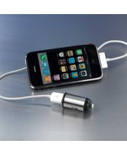 Autonabíjačka Motormonkey CL/USB + adaptéry na miniUSB, microUSB, Nokia, HTC, Samsung, so