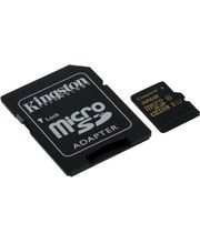 Kingston microSDHC 32GB Class 10/UHS-I, zápis 45MB/s + SD adaptér